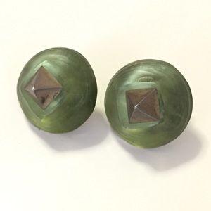 Alexis Bittar Green Earrings